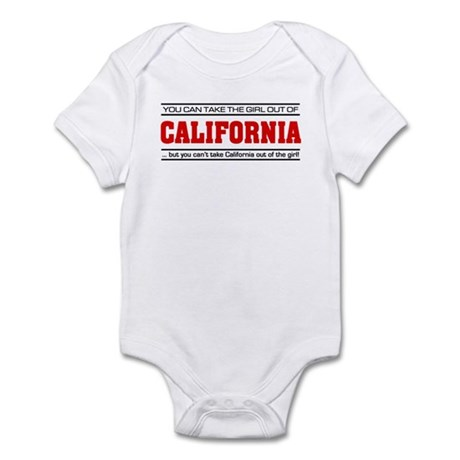 'Girl From California' Infant Bodysuit