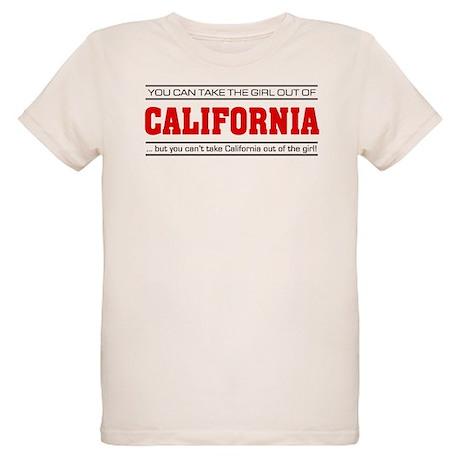 'Girl From California' Organic Kids T-Shirt