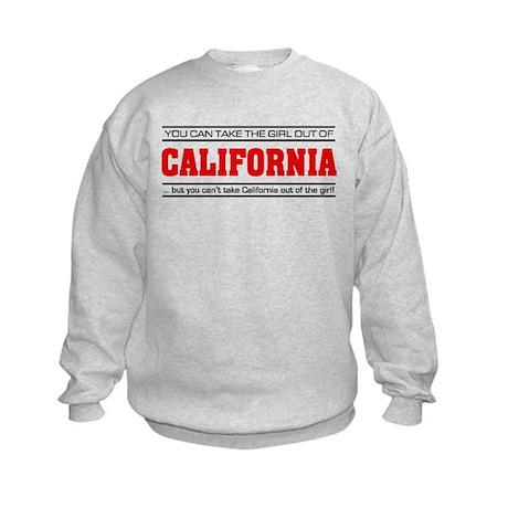'Girl From California' Kids Sweatshirt