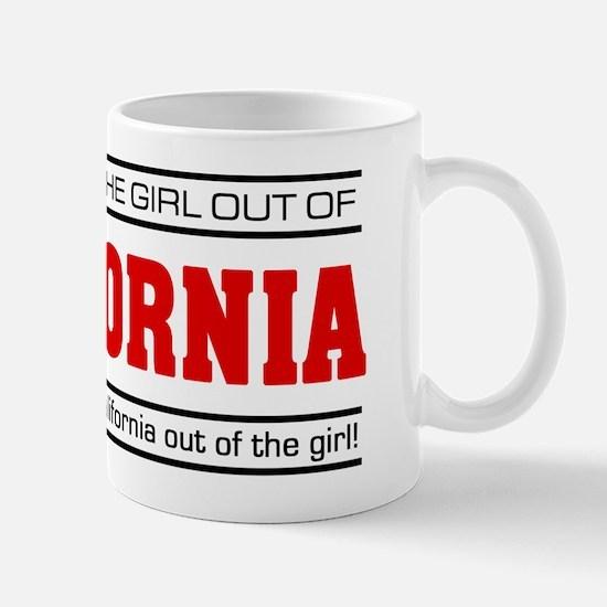 'Girl From California' Mug