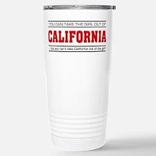 'Girl From California' Travel Mug
