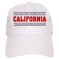 'Girl From California' Baseball Baseball Cap