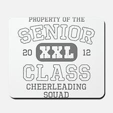 Senior 2012 Cheerleading Mousepad