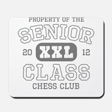 Senior 2012 Chess Club Mousepad