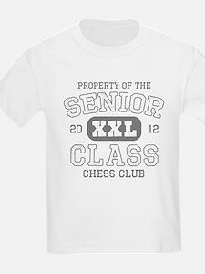 Senior 2012 Chess Club T-Shirt