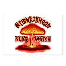Neighborhood Nuke Watch  Postcards (Package of 8)