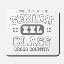 Senior 2012 Cross Country Mousepad