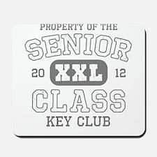 Senior 2012 Data Key Club Mousepad