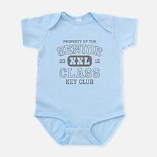 Senior 2012 Data Key Club Infant Bodysuit