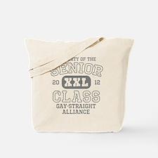Senior 2012 Gay-Straight Alli Tote Bag