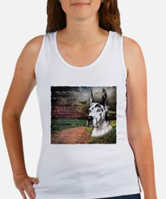 """Why God Made Dogs"" Great Dane Women's Tank Top"