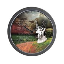 """Why God Made Dogs"" Great Dane Wall Clock"