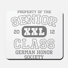 Senior 2012 German Honor Soci Mousepad