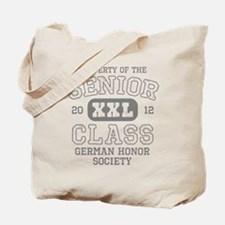 Senior 2012 German Honor Soci Tote Bag