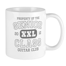 Senior 2012 Guitar Club Mug