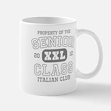 Senior 2012 Italian Club Small Small Mug