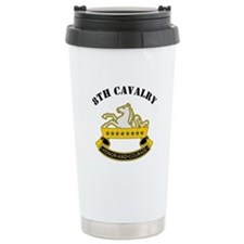 8th Cavalry Division Travel Mug