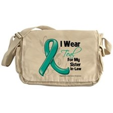 Sister-in-Law Ovarian Cancer Messenger Bag