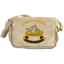 8th Cavalry Division Messenger Bag