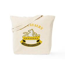 8th Cavalry Division Tote Bag