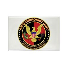 Anti Terrorist Unit RED Rectangle Magnet (10 pack)