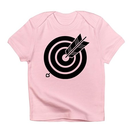 Arrow hit a round target Infant T-Shirt