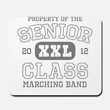 Senior 2012 Marching Band Mousepad