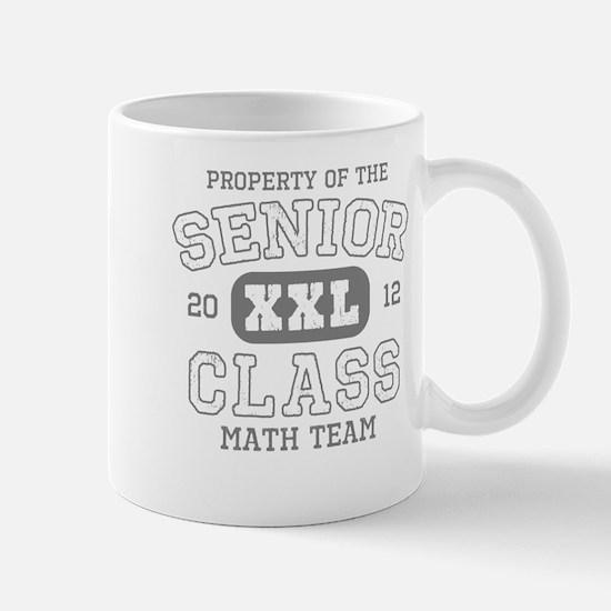 Senior 2012 Math Team Mug