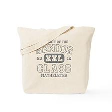 Senior 2012 Matheletes Tote Bag
