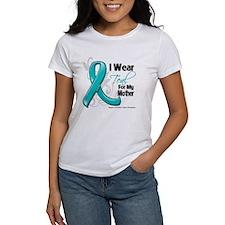 I Wear Teal Mother Ovarian Cancer Tee