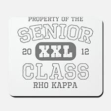 Senior 2012 Rho Kappa Mousepad