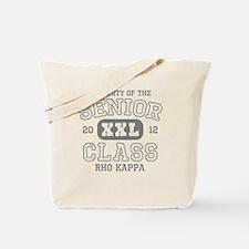 Senior 2012 Rho Kappa Tote Bag