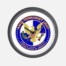 Anti Terrorist Unit BLU Wall Clock
