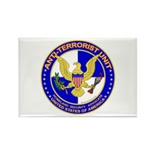 Anti Terrorist Unit BLU Rectangle Magnet (10 pack)