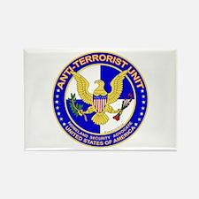 Anti Terrorist Unit BLU Rectangle Magnet (10 pack)