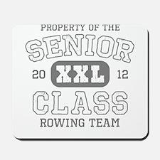 Senior 2012 Rowing Team Mousepad