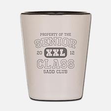 Senior 2012 SADD Shot Glass