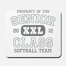 Senior 2012 Softball Mousepad