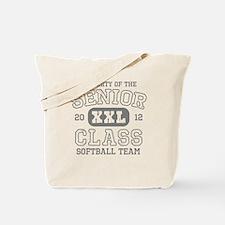 Senior 2012 Softball Tote Bag