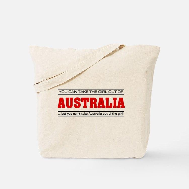 'Girl From Australia' Tote Bag