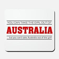 'Girl From Australia' Mousepad