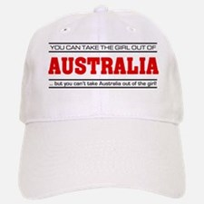 'Girl From Australia' Baseball Baseball Cap