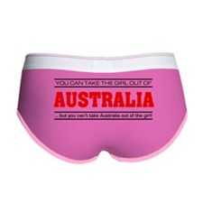 'Girl From Australia' Women's Boy Brief