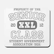 Senior 2012 SGA Mousepad