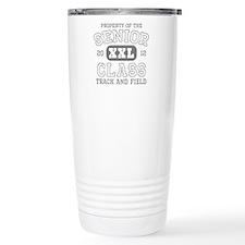 Senior 2012 Track and Field Travel Mug