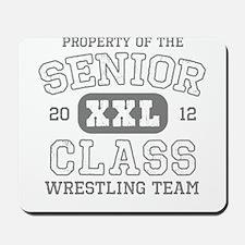 Senior 2012 Wrestling Mousepad