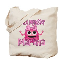 Little Monster Martha Tote Bag