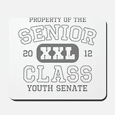 Senior 2012 Youth Senate Mousepad