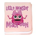 Little Monster Maureen baby blanket