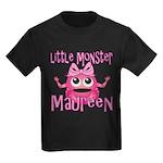 Little Monster Maureen Kids Dark T-Shirt